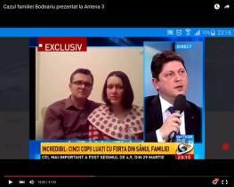 Cazul Bodnariu la Antena 3 cu Titus Corlatean