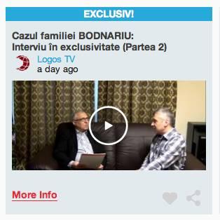 Cazul Familiei Bodnariu- Interviu in exclusivitate (Partea 2) Logos TV
