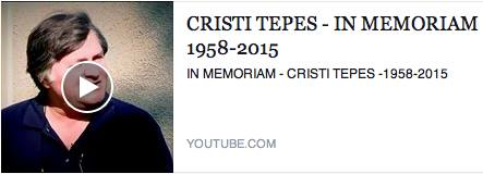 Cristi Tepes In Memoriam