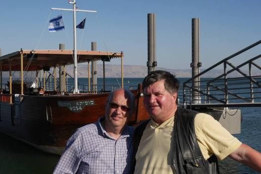 Cristi Tepes si Catalin Vasile in Israel