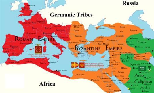 Europa European map
