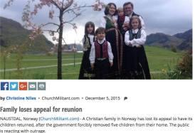 Familia Bodnariu in presa catolica americana