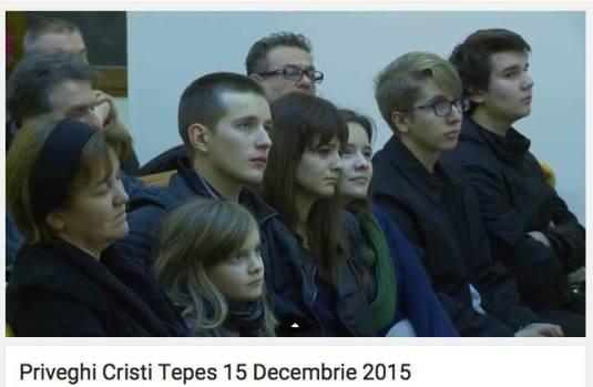 Familia Cristi Tepes Priveghi 15 dec 2015