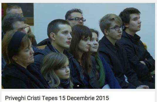 Familia Cristi Tepes Priveghi 15 dec 2015