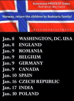 GLOBAL PROTEST BODNARIU FAMILY