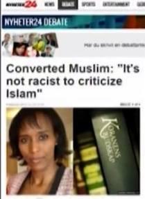 """Mona Walter: """"Nu e racism sa critici islamul."""