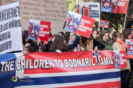 Norway Return the children to Bodnariu family M & M Photography