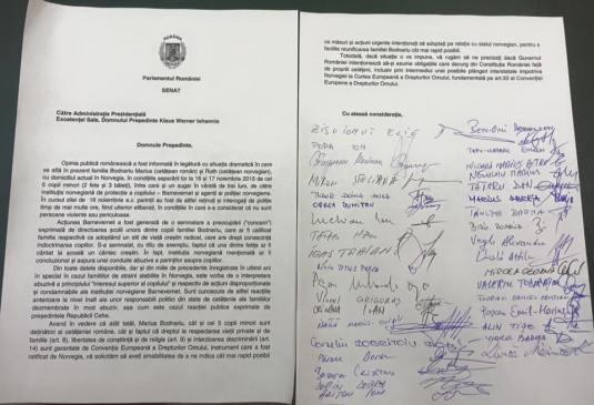 Scrisoare presedintelui Klaus Iohannis de la Ben Oni Ardelean