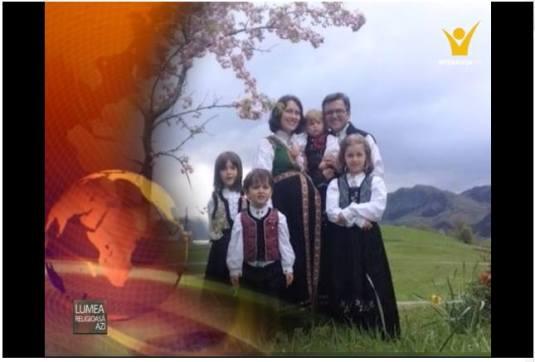 Speranta TV - Lumea religioasa azi - Familia Marius si Ruth Bodnariu 1