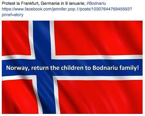 Stop Barnevernet Frankfurt Germany