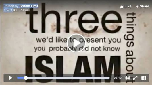 three things about islam