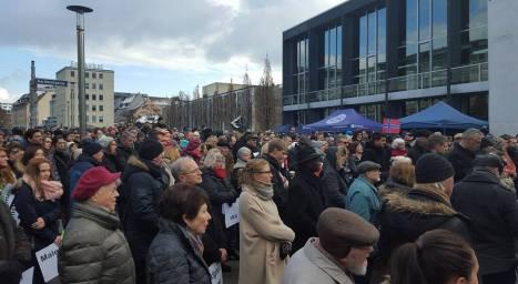 1 Protest.17.02 .2016 Nürnberg(Germania) Pt.Fam.Bodnariu si Crestini persecutati