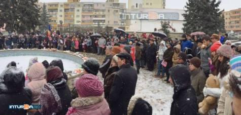 2 Amvram Gal Protest Bodnariu Campia Turzii 17 Ianuarie 2016
