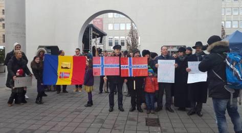 2 Protest.17.02 .2016 Nürnberg(Germania) Pt.Fam.Bodnariu si Crestini persecutati