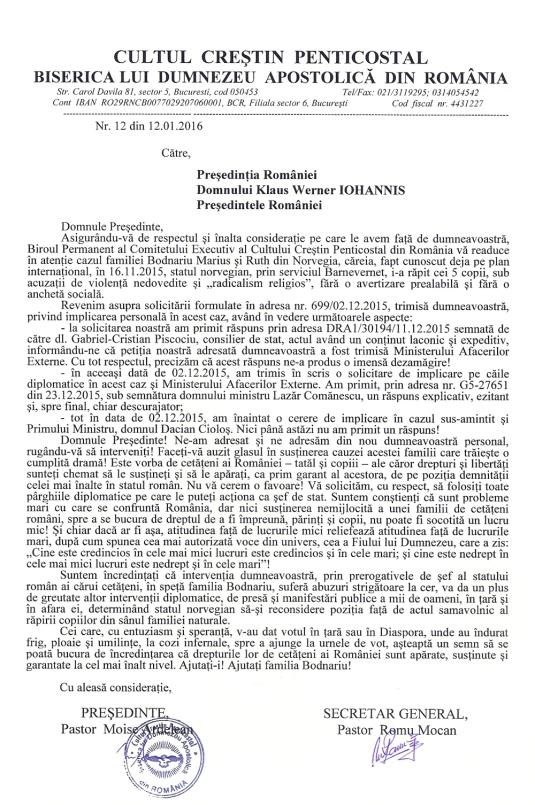 adresa-presedintelui Iohannis