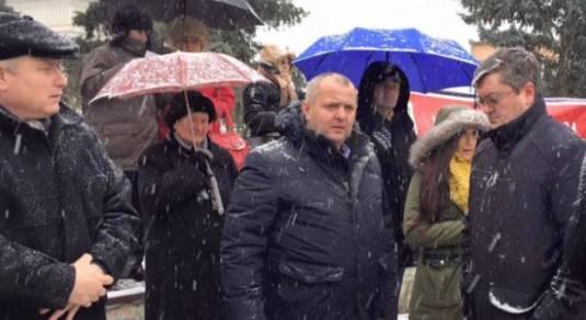 Amvram Gal Protest Bodnariu Campia Turzii 17 Ianuarie 2016