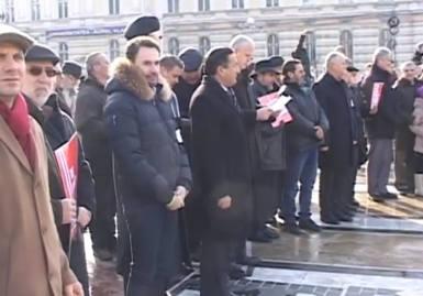Aradul, alaturi de fam. Bodnariu 4 Gheorghe Falca,Moise Ardelean,Viorel Iuga