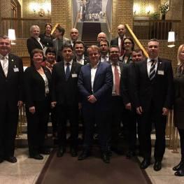 Întâlnirilea Parlamentarilor Români cu oficialii norvegieni şi cu Ulf Leirstein, preşedintele Grupului de Prietenie şi Cooperare România