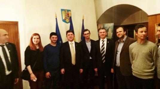 Întâlnirilea Parlamentarilor Români cu oficialii norvegieni