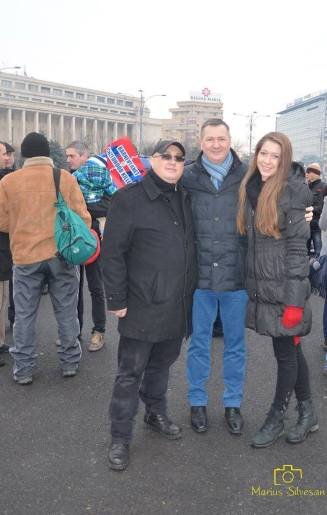 Catalin Vasile, Director Prodocens Media, Pastorul Florin Ianovici si fiica