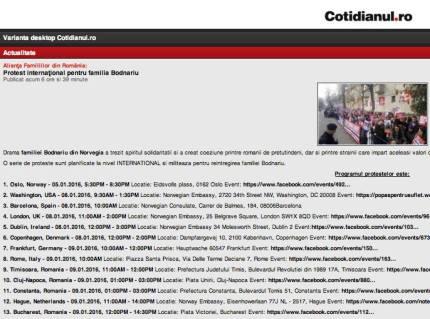 Cotidianul.ro despre cazul familiei BODNARIU