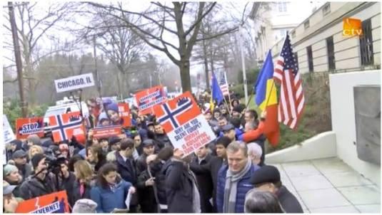 CREDO TV Video clip PROTEST la Washington D.C. January 8, 2016