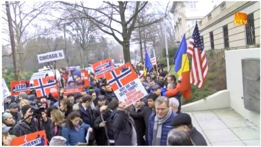 CREDO TV Video clip PROTEST la Washington D.C. January 8, 2016