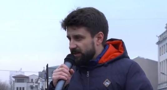 Deputatul Aurelian Mihai Protest Bucuresti #BODNARIU