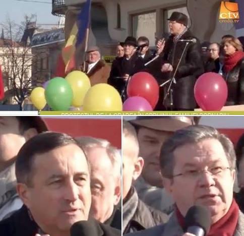 Emisiune specială Credo TV - Protestul de la Oradea - 23.01.2016 - Cazul Bodnariu