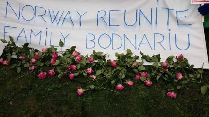 Hague Bodnariu protest 1