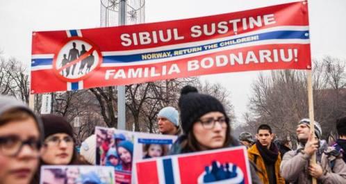 Ioan Brie Protest Sibiu Bodnariu