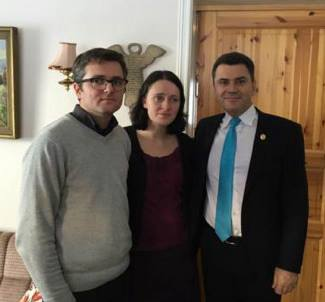 Marius si Ruth Bodnariu cu Mircea Dolha