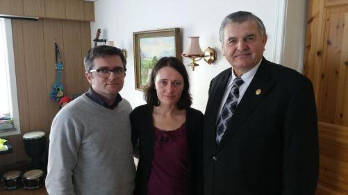 Marius si Ruth Bodnariu cu Mircea Lubanovici