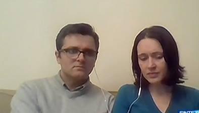 Marius si Ruth Bodnariu la Antena 3 10 ianuarie 2016