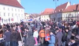 Nelu Brie Mitingul de la Sibiu 2