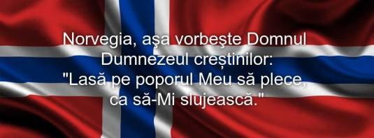 Norvegia flag let my people go