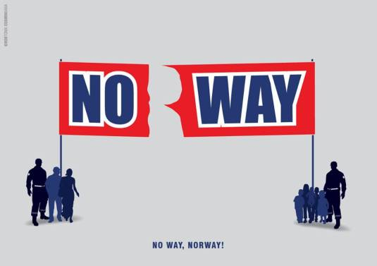 Norway, No way! Photo Bob Toma
