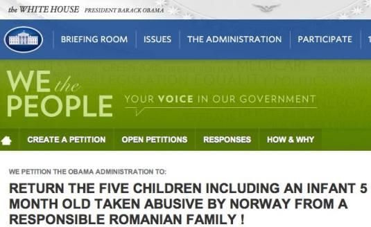 Petition BODNARIU family