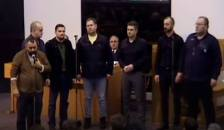 Cor barbatesc Biserica Arad-Sega, dirijor Nelu Mot