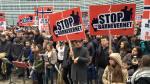 PROTEST Barnevernet for BODNARIU inBruxelles