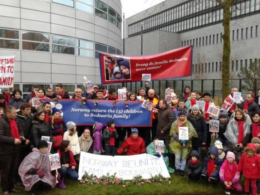 Protest #BODNARIU Hague,Holland Photo credit Cristian Ionescu