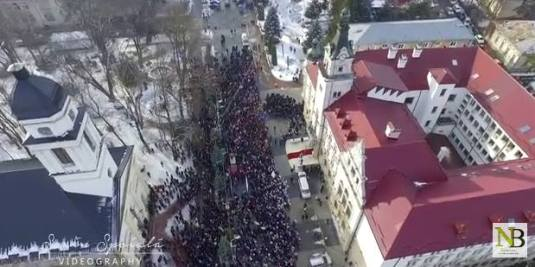 Protest Suceava (video) 2