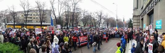 Protest Timisoara Photos Samy Tutac