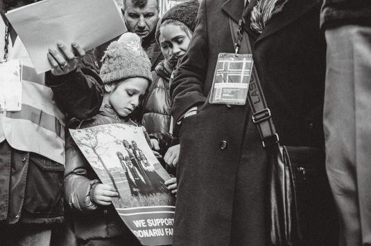 Protest VIENNA Photo Ciprian Florea