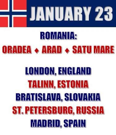 Proteste 23 ianuarie
