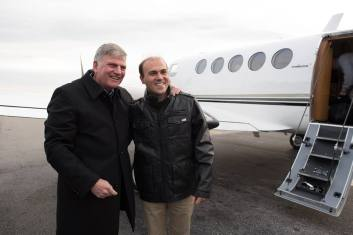 Saeed Abedini cu Franklin Graham 1