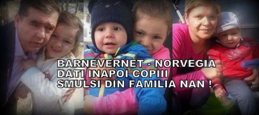 Familia Nan, Dumitru și Mihaela în scopul recuperării copiilor lor Bianca și Dragoș.