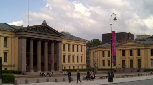 University of Oslo photo via wikipedia