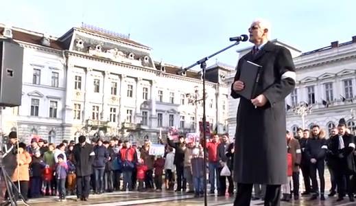 VIorel Iuga Protest Bodnariu la Arad 4