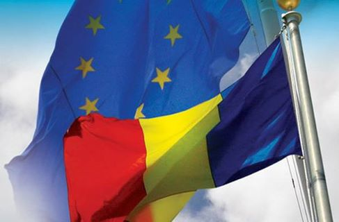 EU Romanian flag